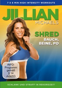 Shred DVD von Jillian Michaels