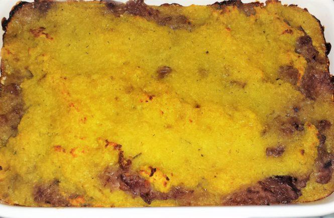Veganer Zwiebel-Kartoffel-Auflauf
